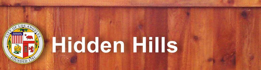 Hidden Hills CA fence contractor