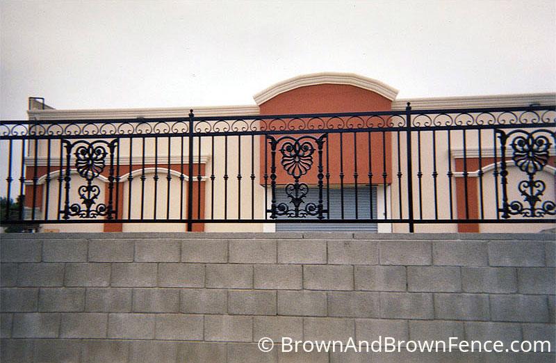 Iron Fence 02