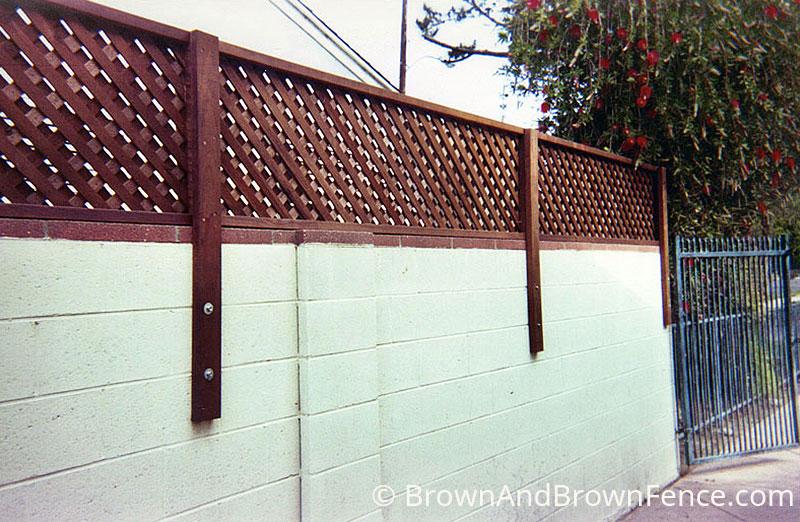 wood fence 08