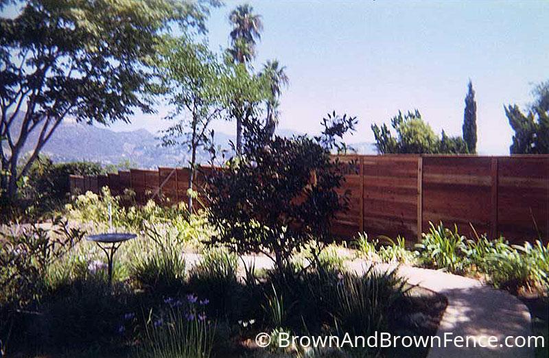 wood fence 16