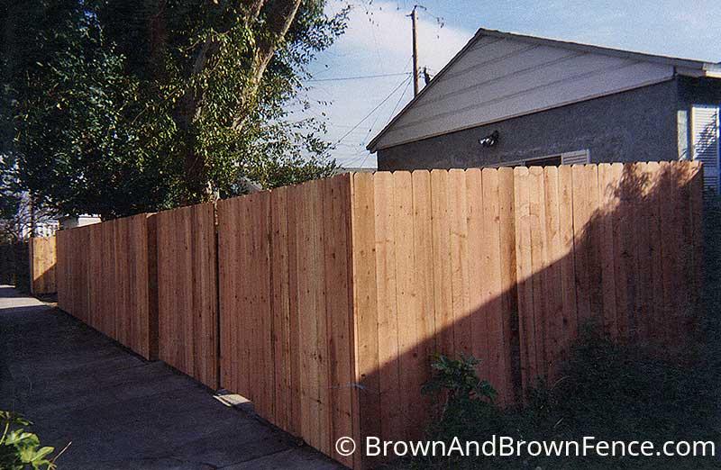 wood fence 18