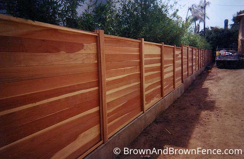 wood fence 21