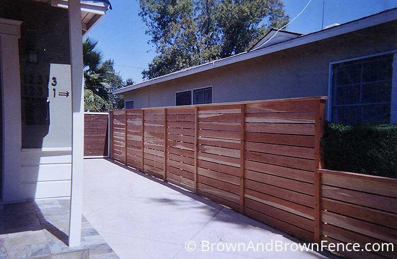 wood fence 22