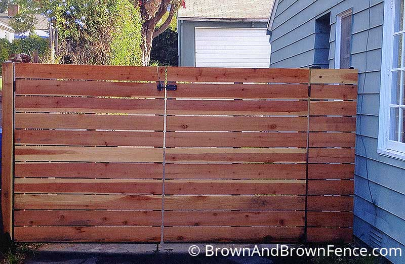 wood gate 8